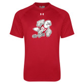 Under Armour Red Tech Tee-Mascot