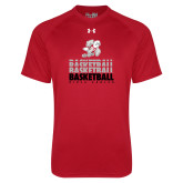 Under Armour Red Tech Tee-Basketball Repeated