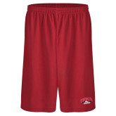 Performance Classic Red 9 Inch Short-Official Athletics Logo