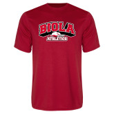 Performance Red Tee-Official Athletics Logo