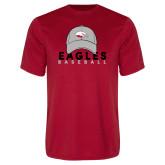 Performance Red Tee-Baseball Hat