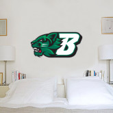 1 ft x 2 ft Fan WallSkinz-Bearcat Head w/ B