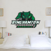 2 ft x 4 ft Fan WallSkinz-Binghamton University Bearcats Official Logo