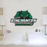 2 ft x 4 ft Fan WallSkinz-Binghamton University Bearcats Official Logo