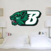 2 ft x 4 ft Fan WallSkinz-Bearcat Head w/ B