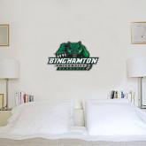 6 in x 1 ft Fan WallSkinz-Binghamton University Bearcats Official Logo