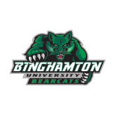 Medium Decal-Binghamton University Bearcats Official Logo, 8 inches wide