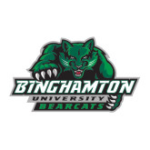 Large Decal-Binghamton University Bearcats Official Logo, 12 inches wide