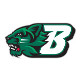 Large Decal-Bearcat Head w/ B, 12 inches wide