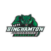 Small Decal-Binghamton University Bearcats Official Logo, 6 inches wide