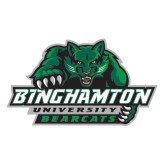 Extra Large Decal-Binghamton University Bearcats Official Logo, 18 inches wide
