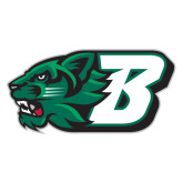 Extra Large Decal-Bearcat Head w/ B, 18 inches wide