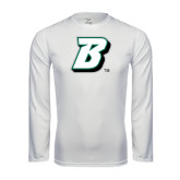 Performance White Longsleeve Shirt-B