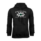 Black Fleece Hoodie-Arched Cross Country XC Design