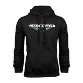 Black Fleece Hood-Track and Field Design