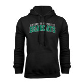 Black Fleece Hoodie-Arched Binghamton University Bearcats
