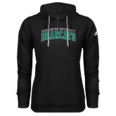 Adidas Climawarm Black Team Issue Hoodie-Arched Binghamton University Bearcats