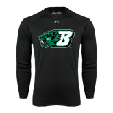 Under Armour Black Long Sleeve Tech Tee-Bearcat Head w/ B