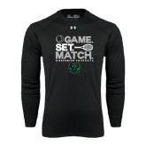 Under Armour Black Long Sleeve Tech Tee-Game Set Match Tennis Design