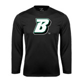 Performance Black Longsleeve Shirt-B