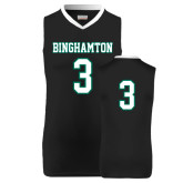 Replica Black Adult Basketball Jersey-#3