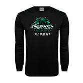 Black Long Sleeve TShirt-Alumni