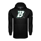 Under Armour Black Performance Sweats Team Hoodie-B