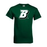 Dark Green T Shirt-B