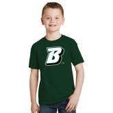 Youth Dark Green T Shirt-B