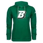 Adidas Climawarm Dark Green Team Issue Hoodie-B