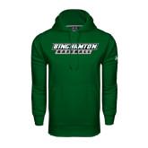 Under Armour Dark Green Performance Sweats Team Hood-Baseball