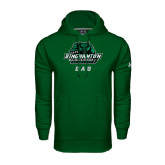 Under Armour Dark Green Performance Sweats Team Hoodie-Dad