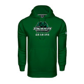 Under Armour Dark Green Performance Sweats Team Hoodie-Grandpa