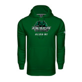 Under Armour Dark Green Performance Sweats Team Hoodie-Alumni