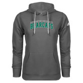 Adidas Climawarm Charcoal Team Issue Hoodie-Arched Binghamton University Bearcats