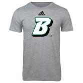 Adidas Sport Grey Logo T Shirt-B
