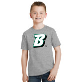 Youth Sport Grey T Shirt-B