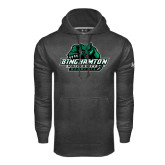 Under Armour Carbon Performance Sweats Team Hoodie-Binghamton University Bearcats Official Logo