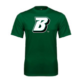 Performance Dark Green Tee-B