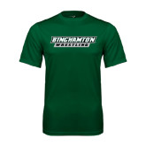 Performance Dark Green Tee-Wrestling