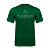 Performance Dark Green Tee-Soccer Ball Design