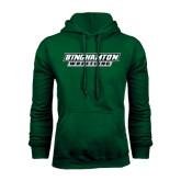Dark Green Fleece Hood-Wrestling
