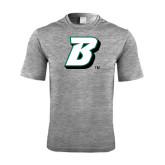 Performance Grey Heather Contender Tee-B