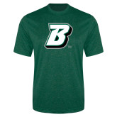 Performance Dark Green Heather Contender Tee-B
