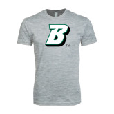 Next Level SoftStyle Heather Grey T Shirt-B
