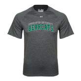 Under Armour Carbon Heather Tech Tee-Arched Binghamton University Bearcats