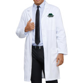 Mens White Lab Coat-Binghamton University Bearcats Official Logo