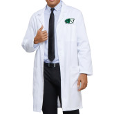 Mens White Lab Coat-Bearcat Head w/ B