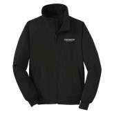 Black Charger Jacket-Binghamton University Flat