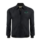 Black Players Jacket-Binghamton University Bearcats Official Logo